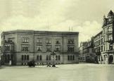 1899 Bankplatz / Westseitelinks : Südstraße / rechts : Steinstraße