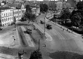 um 1950 Gummibahnhof / Kalenwall